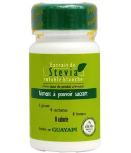 Guayapi - Stevia Solution Blanche aliment à pouvoir sucrant - 20 gr