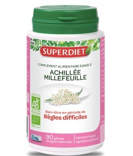 Super Diet - Achillée Millefeuille bio - 90 comprimés