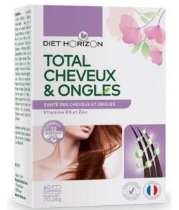 Diet Horizon - Total Cheveux et Ongles - 60 comprimés