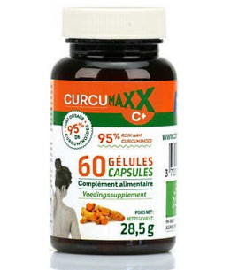Curcumaxx BIO pilulier 60 gélules Biocible curcuma pipérine gingembre Espritphyto