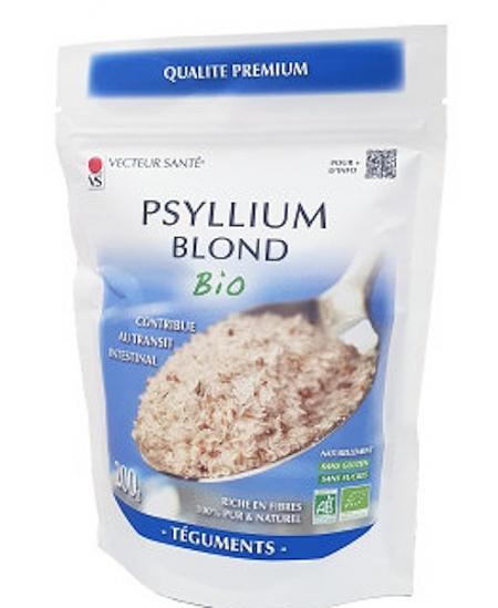 Vecteur Santé - Ispaghul psyllium blond boite de 200 gr fibres transit ralenti Espritphyto
