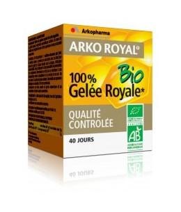 Arkopharma - Arkoroyal Gelée Royale 100 pour cent  PURE Bio pot Pot de 40gr