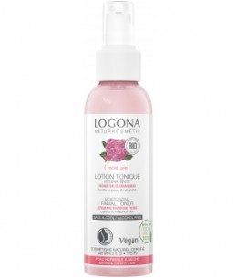 Logona - Lotion tonique hydratante Rose de Damas bio - 125 ml