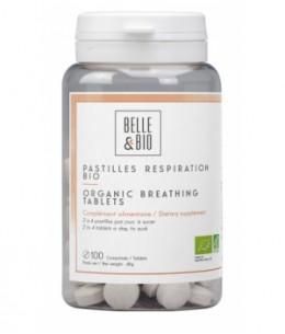 Belle et Bio - 100 Pastilles Respiration aux Huiles essentielles  100 pastilles