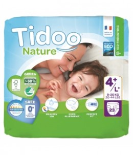 Tidoo - 23 Couches Single Pack (T4+/L+) 9/20kg x23