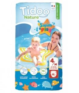 Tidoo - 12 Couches de Bain (T4/M) 8/15kg x12