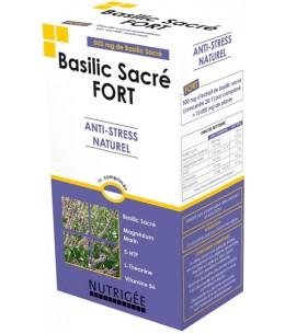 Basilic Sacré fort Anti stress naturel 30 comprimés - Nutrigee anti nervosité Espritphyto