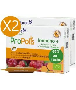 Ladrôme - duo Immuno Plus 2 x 20 ampoules le 2ème à 50% défenses fatigue Espritphyto