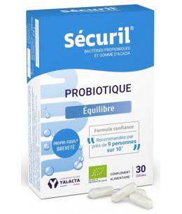 Yalacta Sécuril Probionibacterium freudenreichii 30 gélules