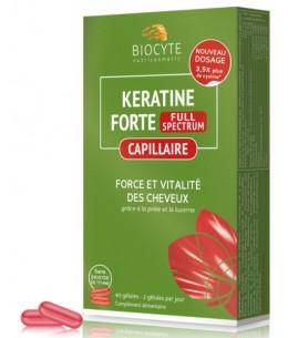 Biocyte - Keratine Forte - Anti-Chute & Volumateur - 40 Gélules