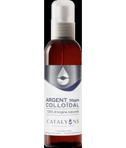 Catalyons - vapo Argent Colloïdal 20PPM - 120 Ml