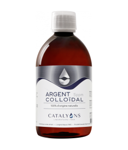 Catalyons - Argent Colloïdal 5 PPM - 500 Ml