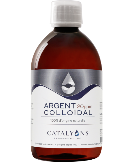 Catalyons - Argent Colloïdal 20 PPM Espritphyto