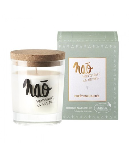 Nao - Bougie parfumée naturelle Forêt Enchantée  - 200 g
