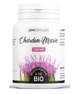 Chardon Marie Bio - 200 gélules - GPH Diffusion foie digestion Espritphyto