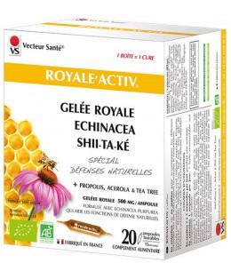 Vecteur Santé - Royale Activ 20 ampoules de 10ml défenses vitalité résistance Espritphyto
