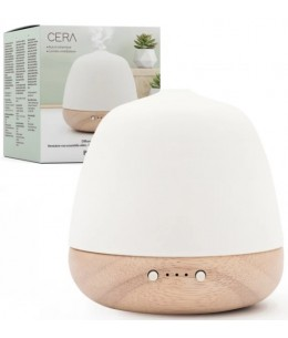 Pranarôm - Diffuseur Ultrasonique Cera lumière méditation aromathérapie Espritphyto