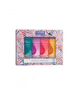 Cattier - Coffret Douche Party - 4 x 40ml