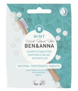 Ben & Anna Dentifrice solide goût menthe 100 pastilles 36gr