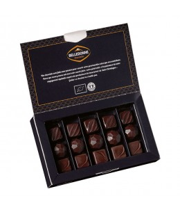 Belledonne Chocolatier - Ballotin Découvertede 16 chocolats bio - 140g