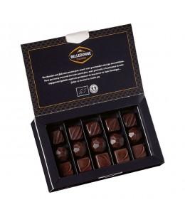 Belledonne Chocolatier - Coffret 15 bouchées Noir intense - 120g