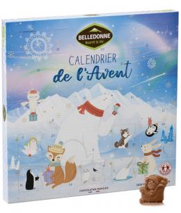Belledonne Chocolatier - Calendrier de l'Avent bio Enfant - 145g