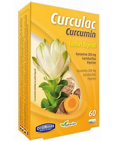 Orthonat Nutrition - Curculac Curcumin Confort Digestif 60 gélules
