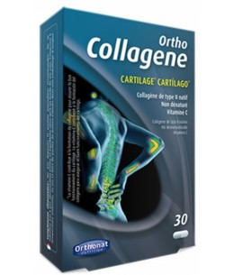 Orthonat Nutrition Ortho Collagène de type 2 - 30 gélules cartilage natif souplesse Espritphyto