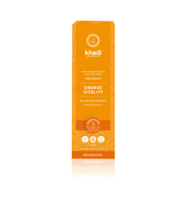 Khadi - Shampoing ayurvédique Orange Vitality - 200 ml