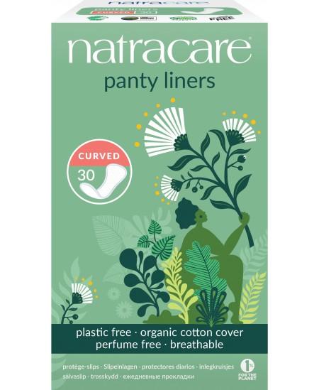 NatraCare - 30 Protège-Slips Bio - Incurvés