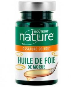 Boutique Nature - Huile de foie de morue 250 capsules