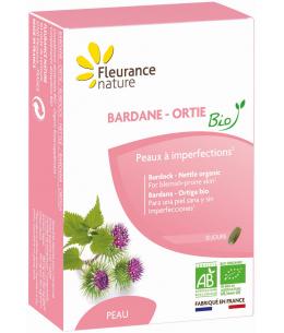 Fleurance Nature - Bardane Ortie bio - 30 comprimés