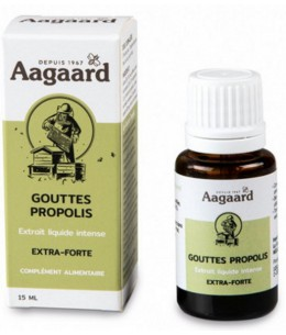Aagaard - Gouttes Propolis intense - 15 ml Espritphyto