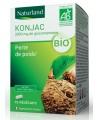 Konjac bio Glucomannane 75 Végécaps - Naturland perte de poids Espritphyto