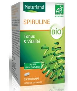 Naturland - Spiruline - 75 Végécaps