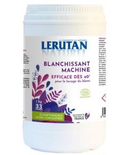 Blanchissant machine additif lessive liquide ou couleur en poudre - 1 kg - Lerutan Espritphyto
