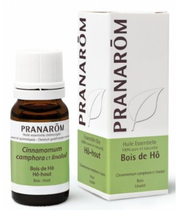 Bois de Hô Flacon compte gouttes - 10 ml - huile essentielle Pranarôm Espritphyto