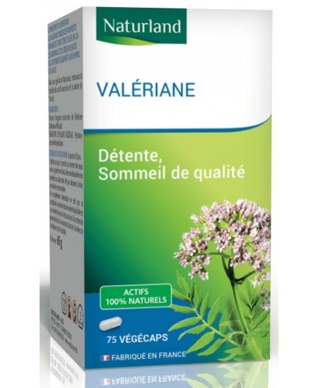 Naturland - Valériane - 75 Végécaps