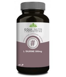 L-Taurine 500 mg - 60 gélules - Equi - Nutri acide aminé soufré Espritphyto