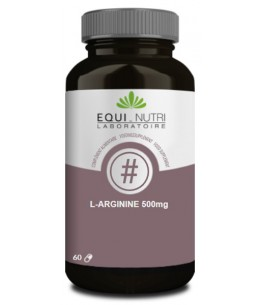 L-Arginine - 60 gélules végétales - Equi - Nutri amino acide Espritphyto