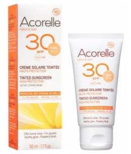 Acorelle - Crème Solaire teintée SPF 30 - 50 ml