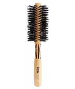 Tek Brosse à brushing frêne naturel - diamètre 55 - Beliflor