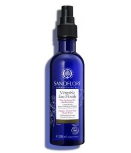 véritable eau florale de Rose ancienne - 200 ml - Sanoflore anti-âge tonifiante Espritphyto
