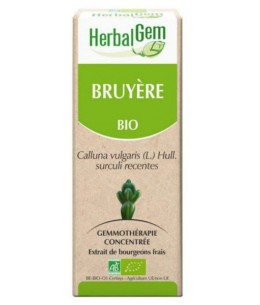 Bruyère Bio Flacon compte gouttes - 50 ml - Herbalgem protection urinaire Espritphyto