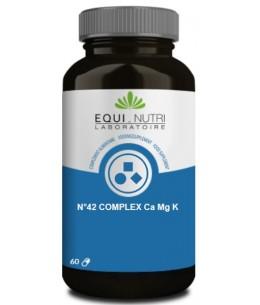 Calcium Magnesium Potassium 60 gélules - Equi - Nutri élimination d'eau Espritphyto