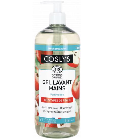 Coslys - Gel lavant mains Pommes bio - 1 L