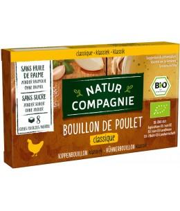 Natur Compagnie - Bouillon cube de poulet - 88 gr