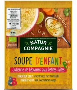 Natur Compagnie - Soupe julienne de légumes aux petites pâtes - 50 gr