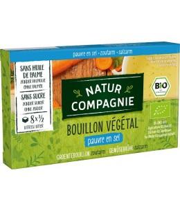 Natur Compagnie - Bouillon cube végétal pauvre en sel - 8 cubes