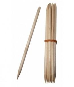 Avril Beauté - Bâtonnets repousse cuticules en bois x10